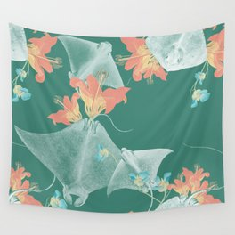 Lilies that sting Wall Tapestry