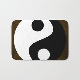 Yin and Yang - Brown Bath Mat