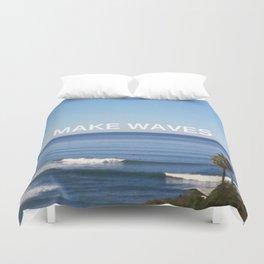 Make Waves Duvet Cover