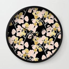 Julip Gold Wall Clock