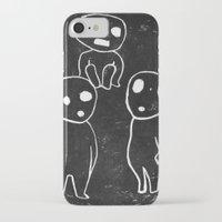 kodama iPhone & iPod Cases featuring Kodama by pkarnold + The Cult Print Shop