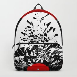 Vinyl shatter Backpack