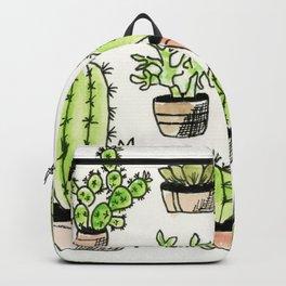 Nine Succulents Backpack