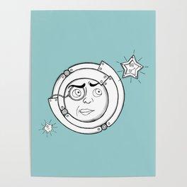 Motor Moon Poster