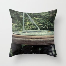 Garden Time Throw Pillow