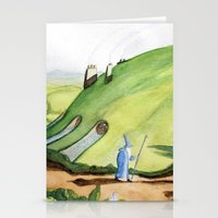 the hobbit Stationery Cards featuring The Hobbit by Emily