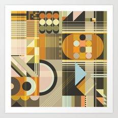 Pattern No.4 Art Print