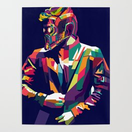 Star Lord WPAP Poster