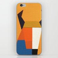 taurus iPhone & iPod Skins featuring Taurus by Fernando Vieira