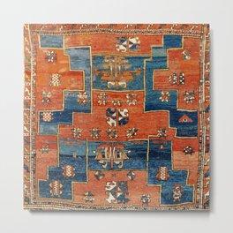 Bergama Northwest Anatolian Rug Print Metal Print