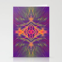 psychedelic Stationery Cards featuring Psychedelic by chey691