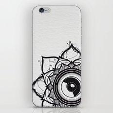 Flower music iPhone & iPod Skin