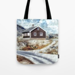 House On Dalsnibba Road Tote Bag