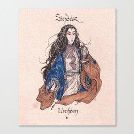 Sindar - Luthien Canvas Print
