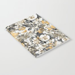 FLORAL PATTERN 01 Notebook
