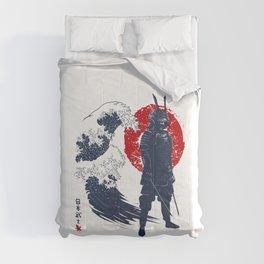 Wave Samurai Comforters