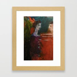 A WARM WELCOME  Framed Art Print