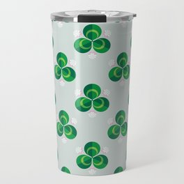 White Clover Travel Mug