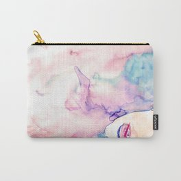 Burning Girl Carry-All Pouch