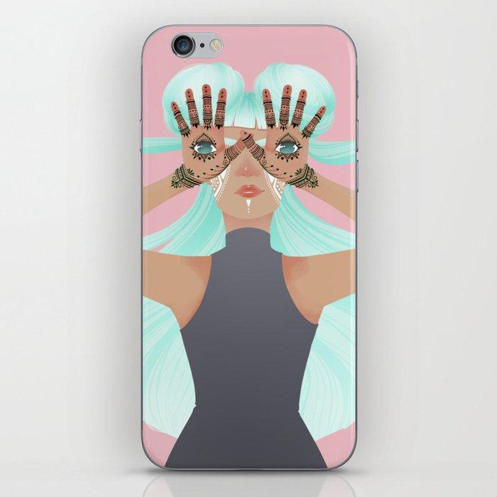 Hamsa: Hand of Fatima iPhone Skin