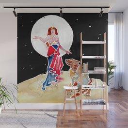 Goddess Circe & Her Beast Wall Mural