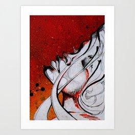 comic side Art Print