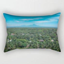 The Palm Jungle Rectangular Pillow
