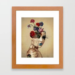 Broken Beauty Framed Art Print