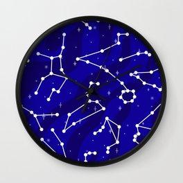 Starlight Star Bright Wall Clock