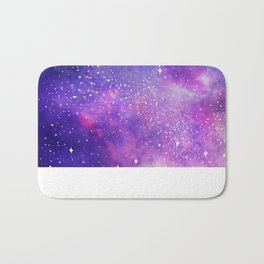 Space Nebula Galaxy Stars Bath Mat