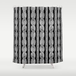 Cable Row B Shower Curtain