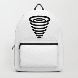 Tornado Icon Backpack