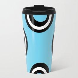 Round Circles Travel Mug