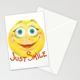 Just Smile :) Stationery Cards