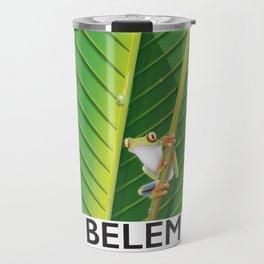 Belem Brazil travel poster Travel Mug