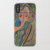 lovers iPhone & iPod Cases featuring lovers by sladja