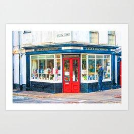 Shakespeare & Co. in Paris, an art print by Jennie Kessinger