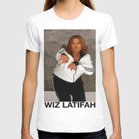 wiz khalifa T-shirts featuring Wiz Latifah by 6triangles