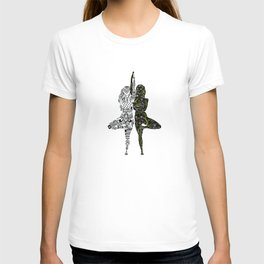 Yin Yang duality interconnected T-shirt