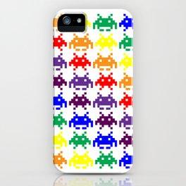 Rainbow Invasion iPhone Case
