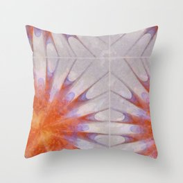 Extemporise Reality Flowers  ID:16165-061204-96700 Throw Pillow