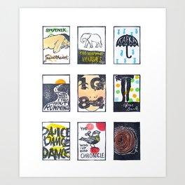 Ohayou Murakami-san Art Print