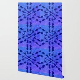 Blue Snowflake Wallpaper