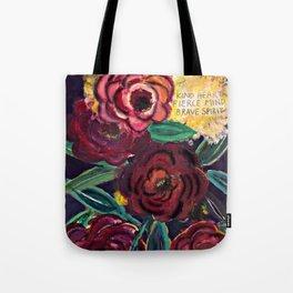 Kind heart Tote Bag