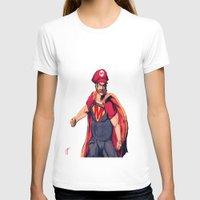 super mario T-shirts featuring Super Mario by Mastodon