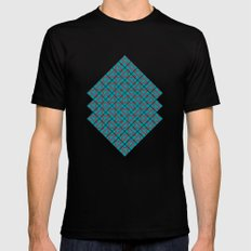 Maze Black Mens Fitted Tee MEDIUM