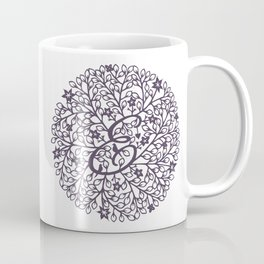 E - monogrammed initial E print Coffee Mug