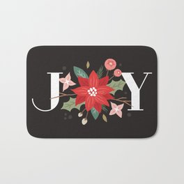 Joy Flourish - Slate Bath Mat