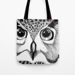 mysterious owl Tote Bag