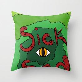 Sick Sad Daria design Throw Pillow